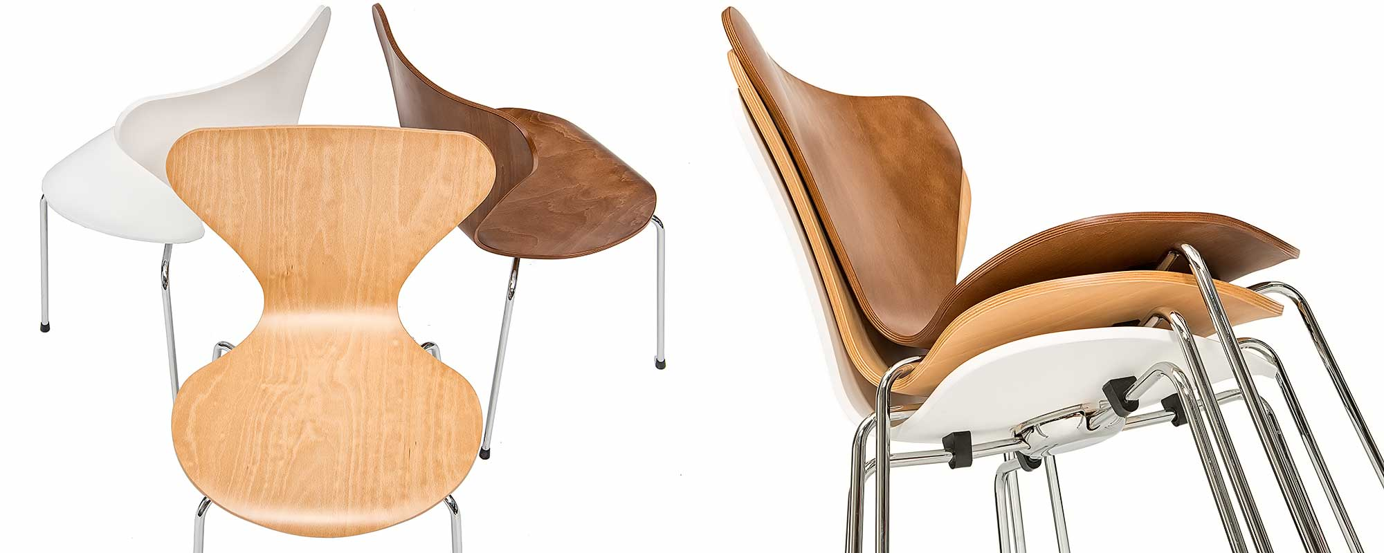 Arne Jacobsen 3107 Chair EYECATCHER Steelform