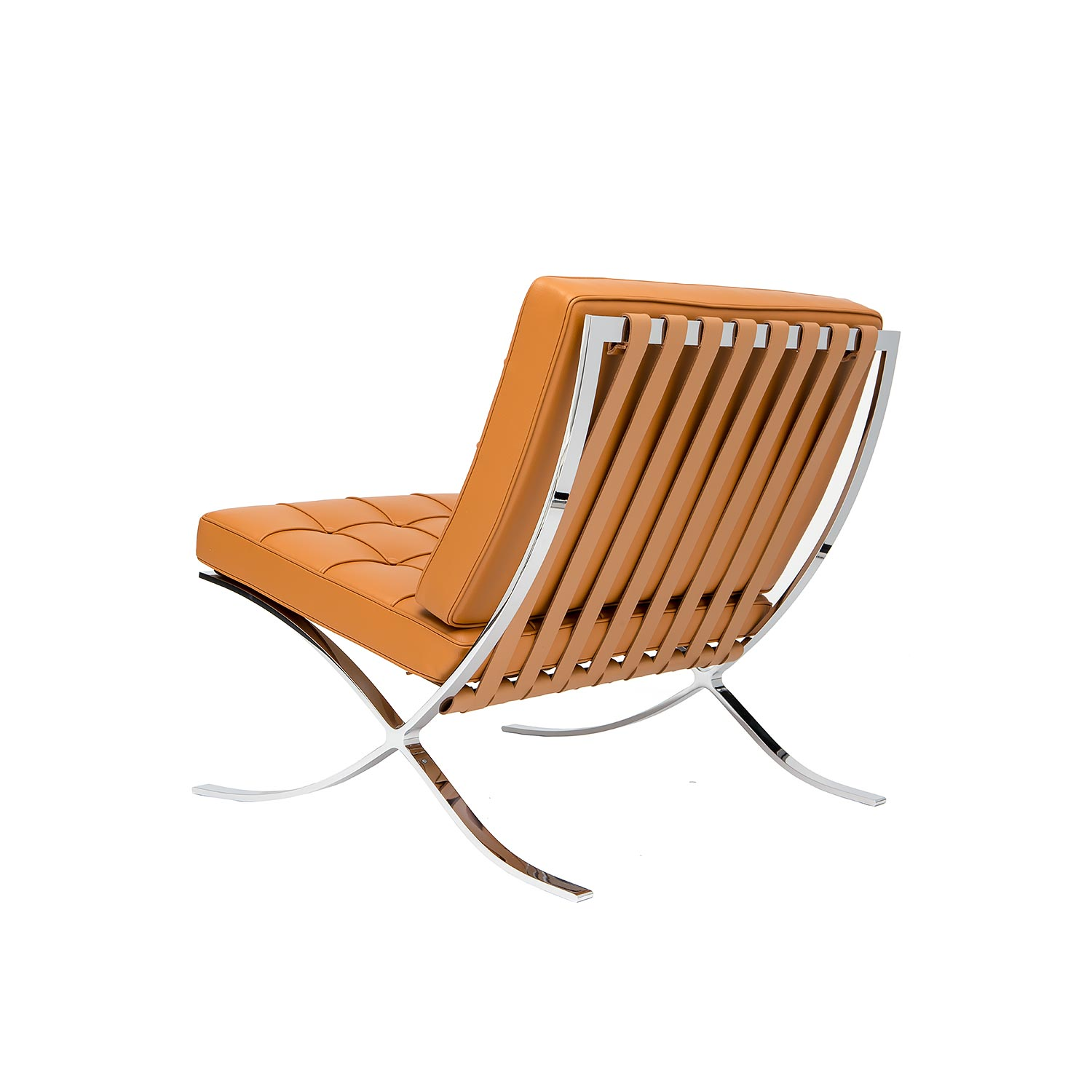 barcelona style chair by mies van der rohe steelform design classics barcelona style chair