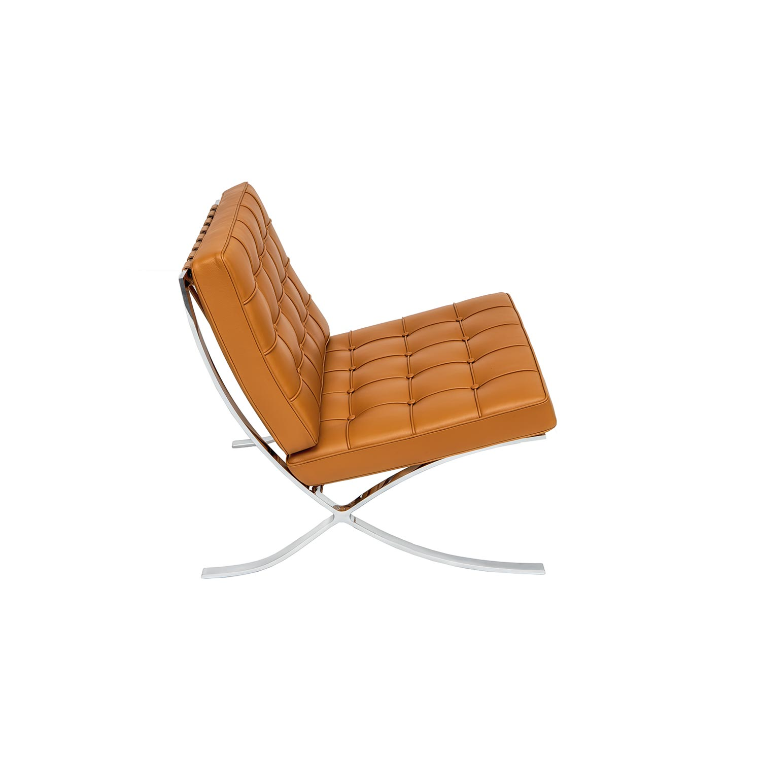 Picture of: Barcelona Style Chair By Mies Van Der Rohe Steelform Design Classics