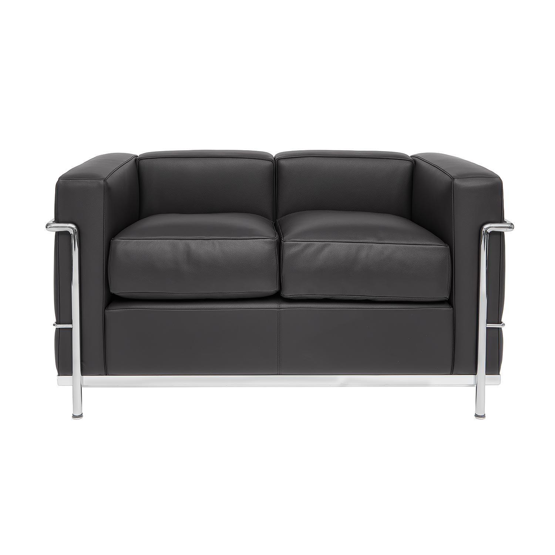 Le Corbusier LC 2 Two Seater Sofa