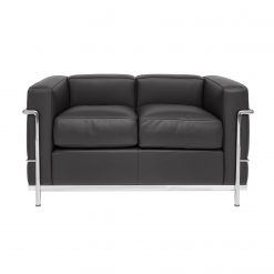Le Corbusier LC 2 Two Seater Sofa