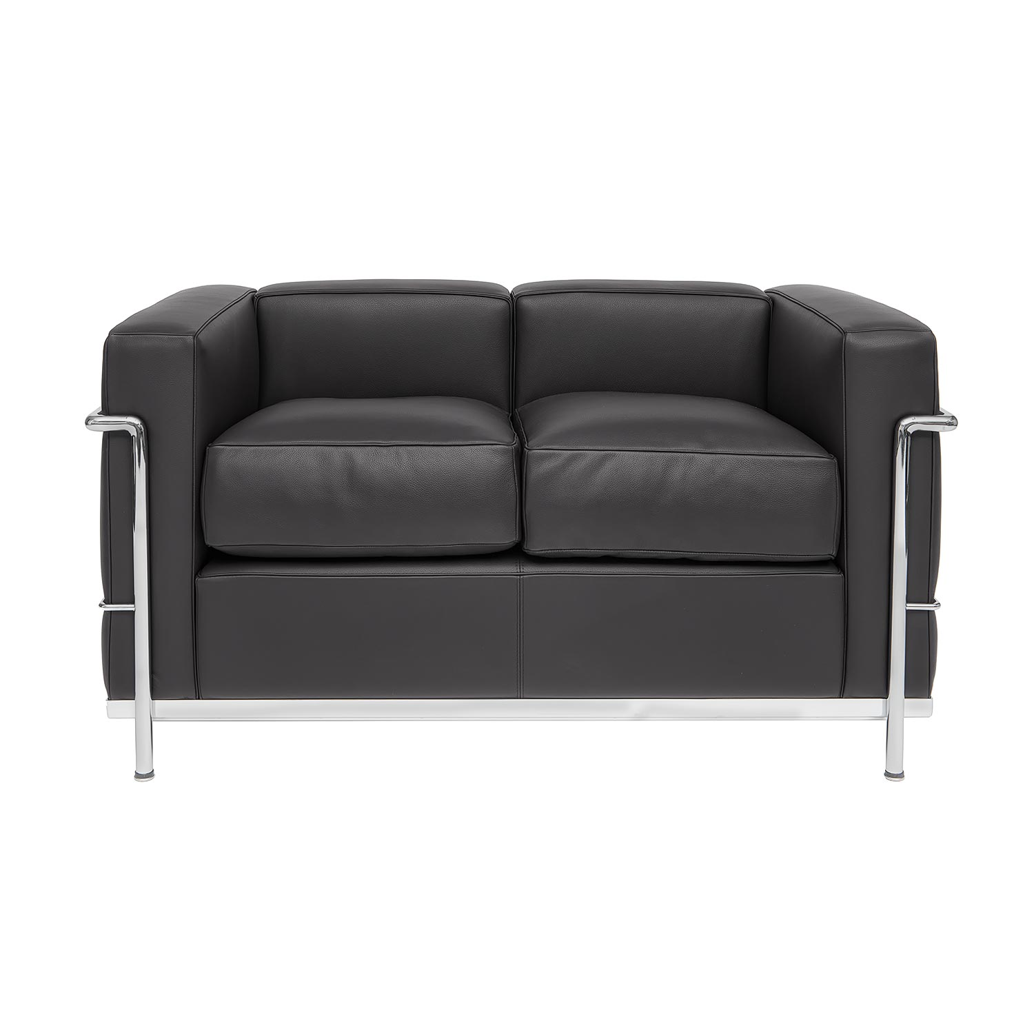 Corbusier designed sofa lc 22 steelform design classics for Le corbusier sofa
