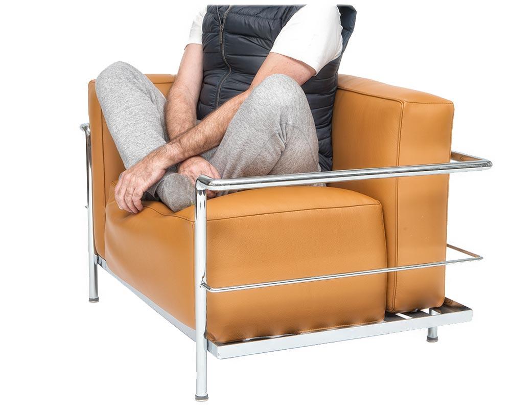 Comfortable LC 3 Armchair
