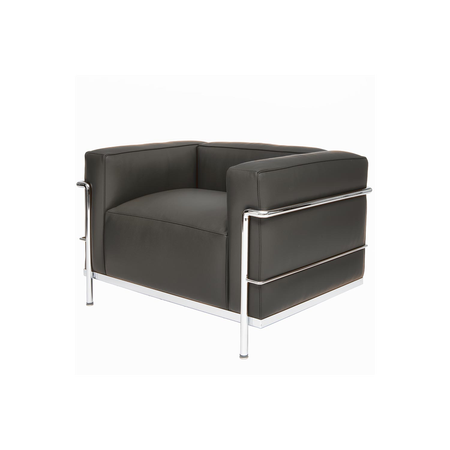 corbusier designed chair lc 31 steelform design classics. Black Bedroom Furniture Sets. Home Design Ideas
