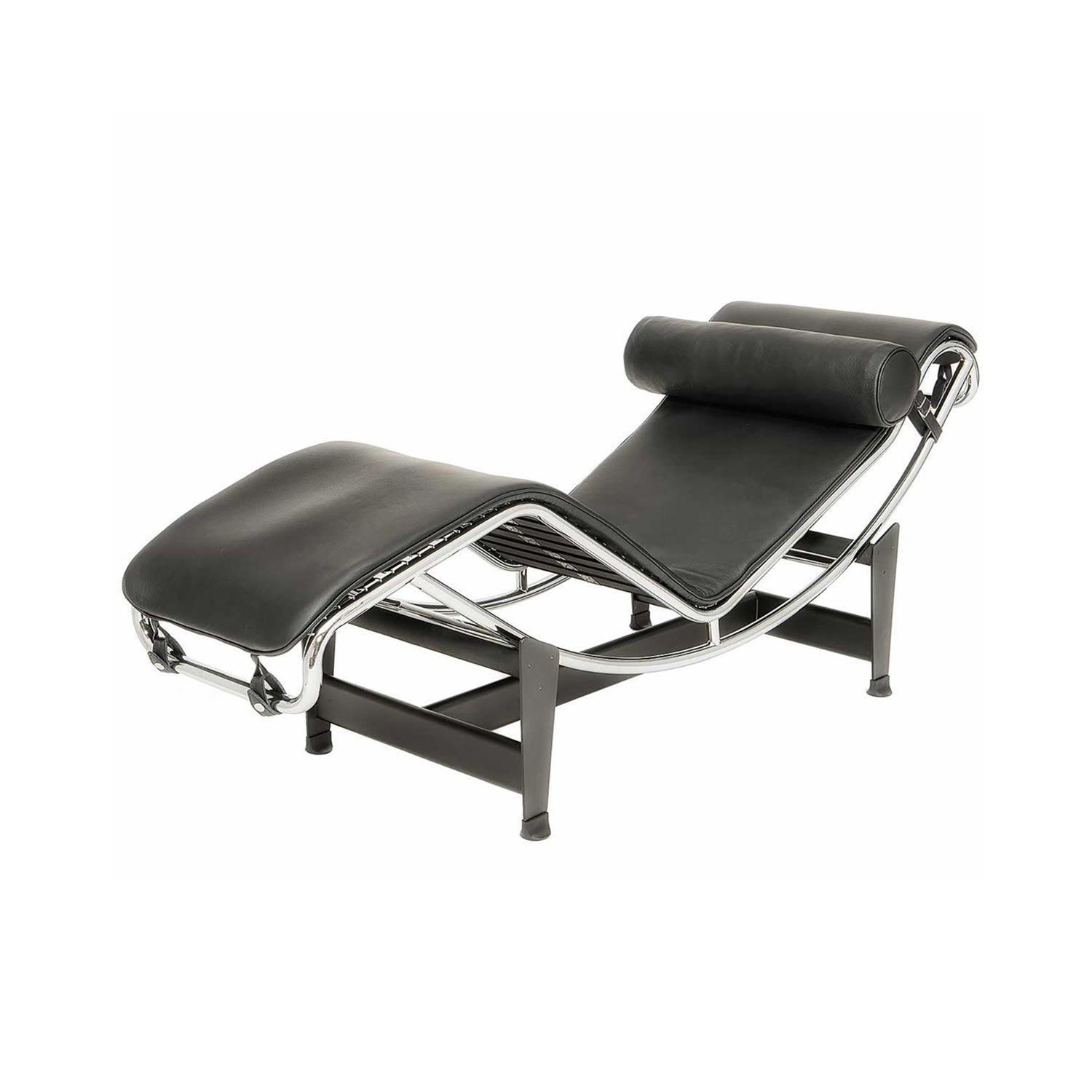 Lc 44 chaiselongue steelform the best reproductions of for Chaise longue le corbusier vache