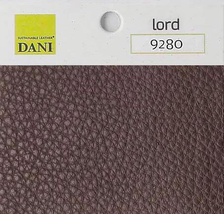 Aniline leather dark brown