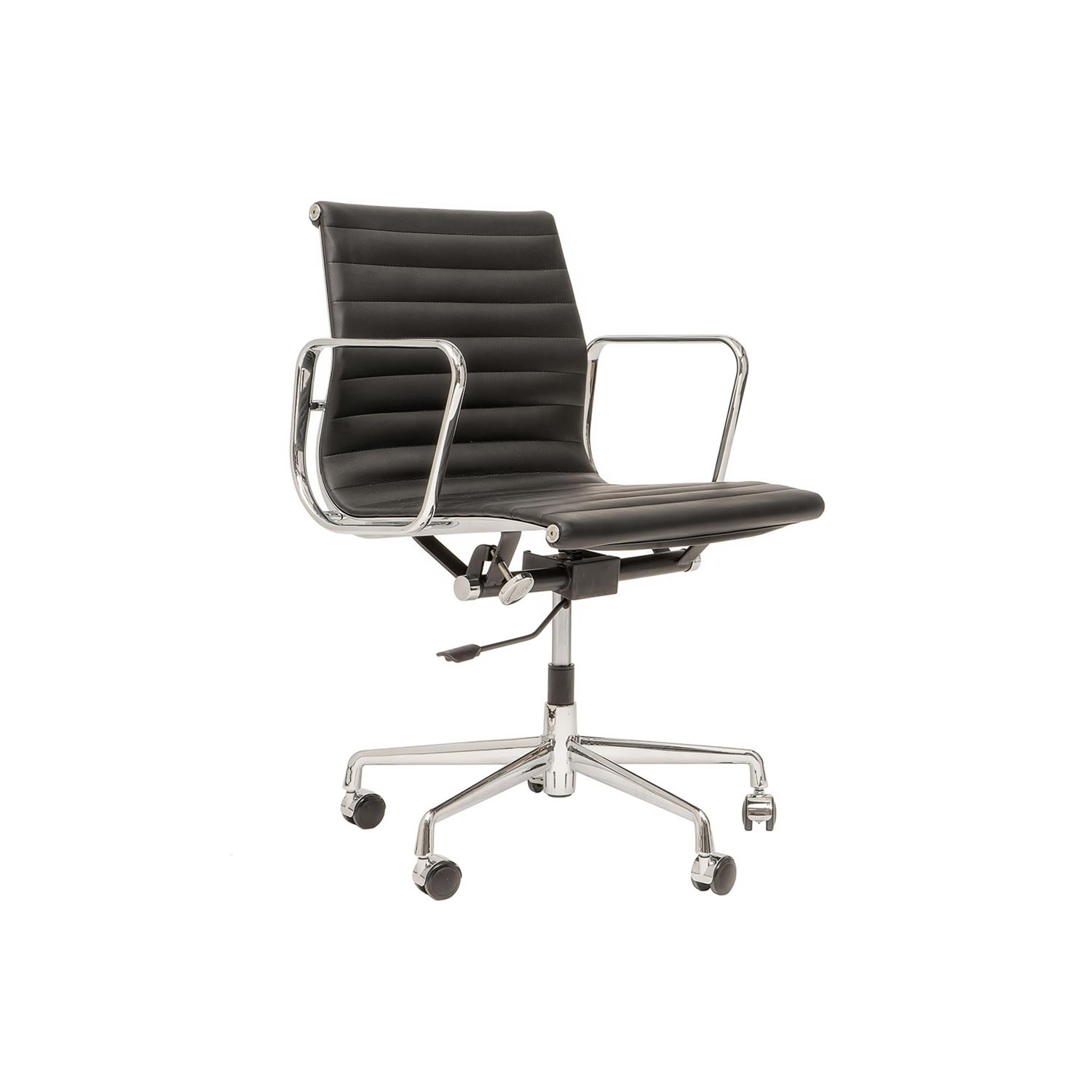 Eames designed aluminium chair ea 117 steelform design for Eames ea 117 replica