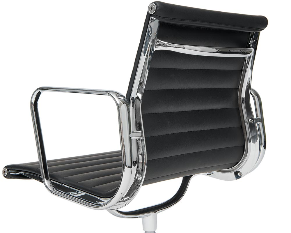 Eames designed aluminium chair ea 117 steelform design for Eames aluminium chair replica