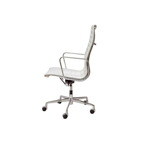 Eames designed aluminium chair ea 117 steelform design for Eames chair prix