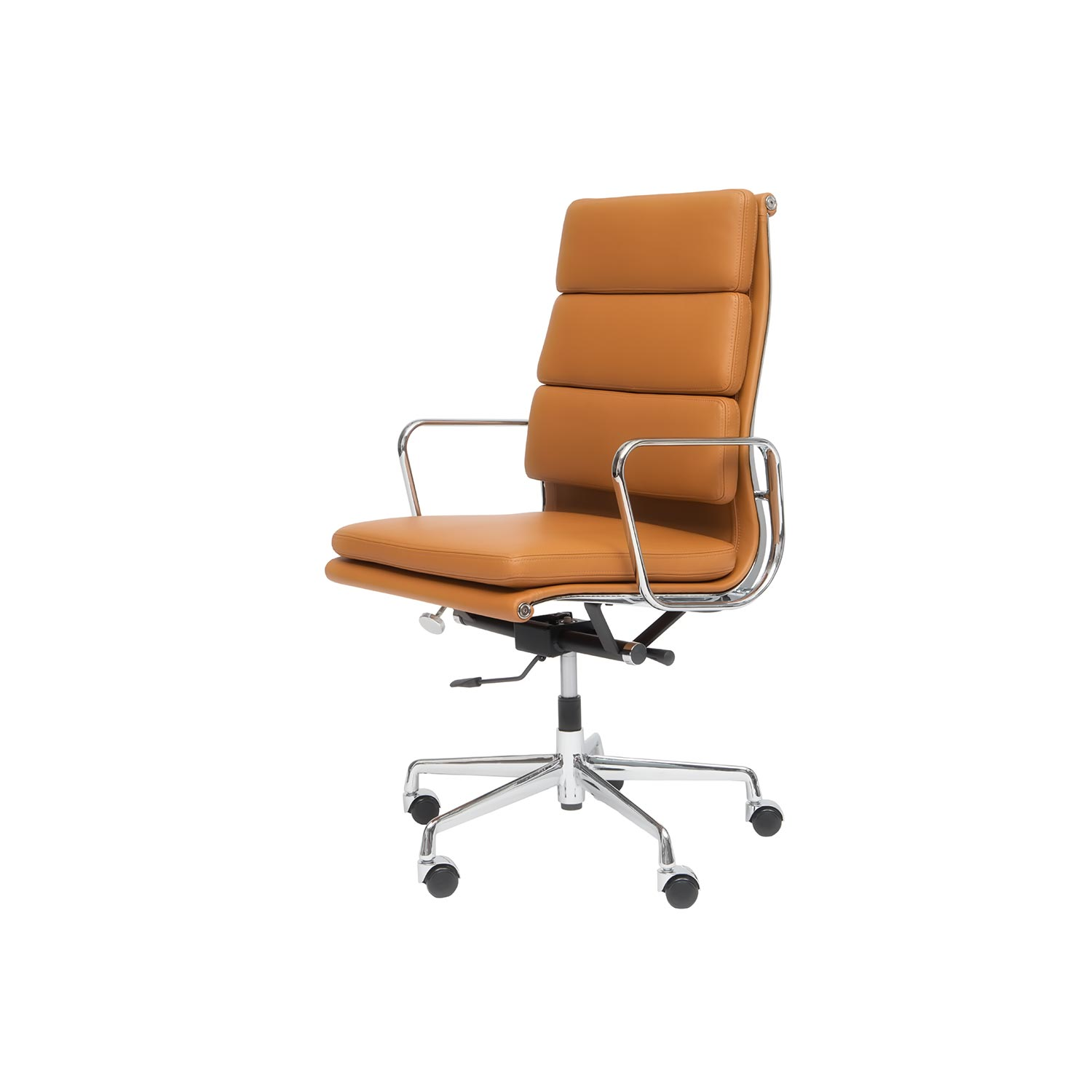 Eames Designed Soft Pad Chair Ea 219 A Steelform Design