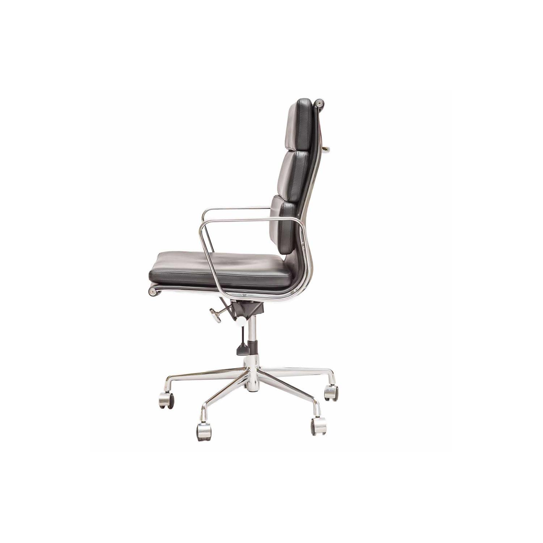 Eames Designed Soft Pad Chair Ea 219 A Steelform Design