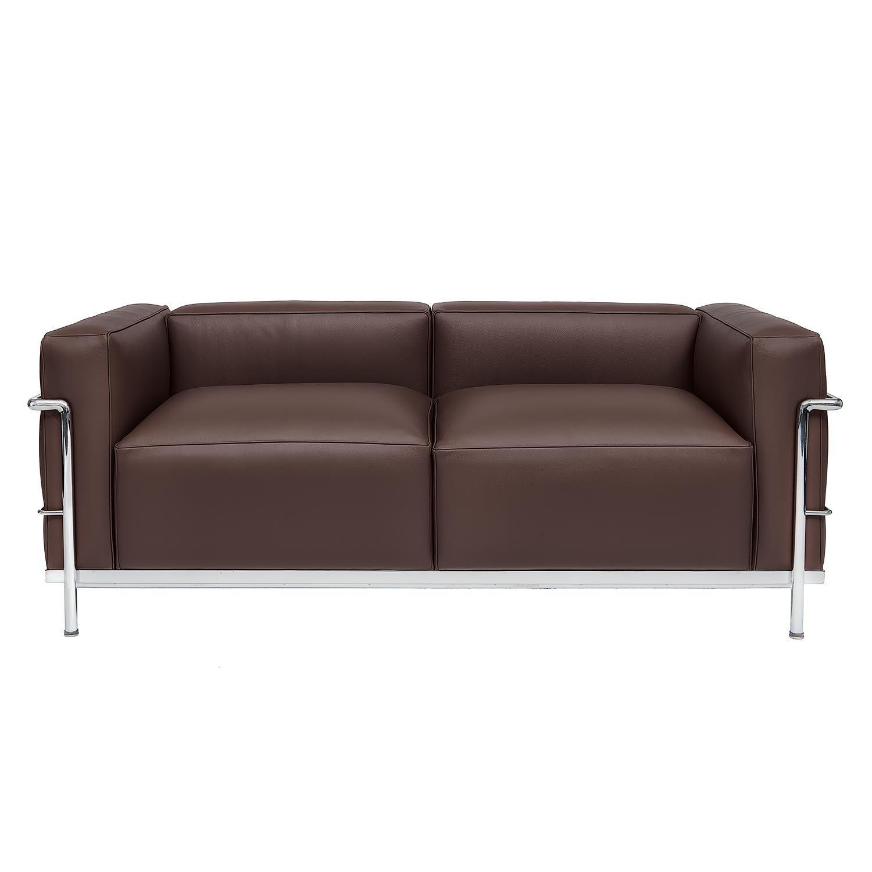 le corbusier lc3 sofa main steelform the best. Black Bedroom Furniture Sets. Home Design Ideas