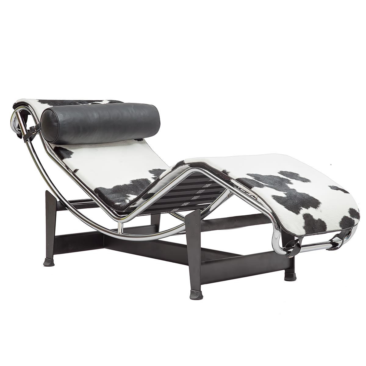 Corbusier LC4 Chaiselongue In Ponyhide