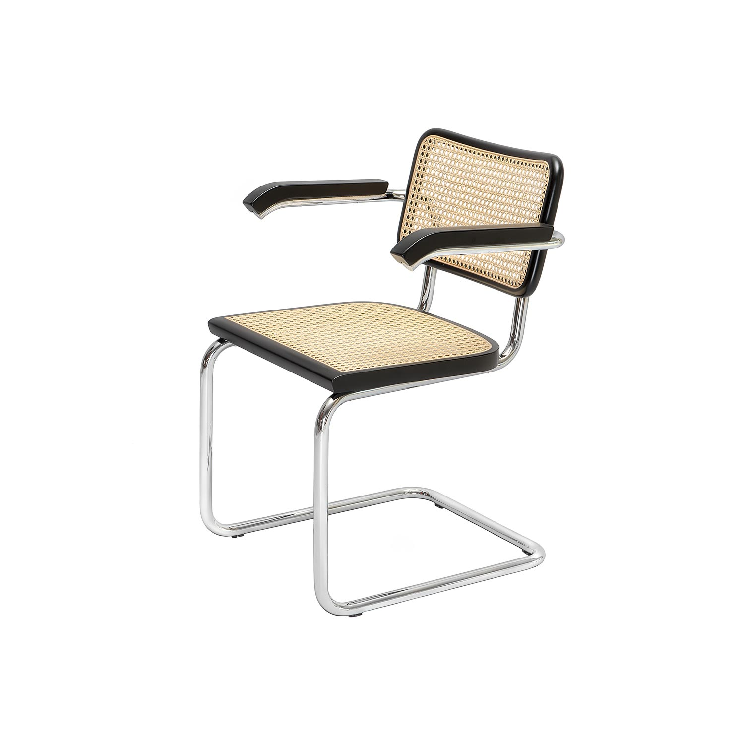 cesca chair b 64 designed by marcel breuer steelform. Black Bedroom Furniture Sets. Home Design Ideas