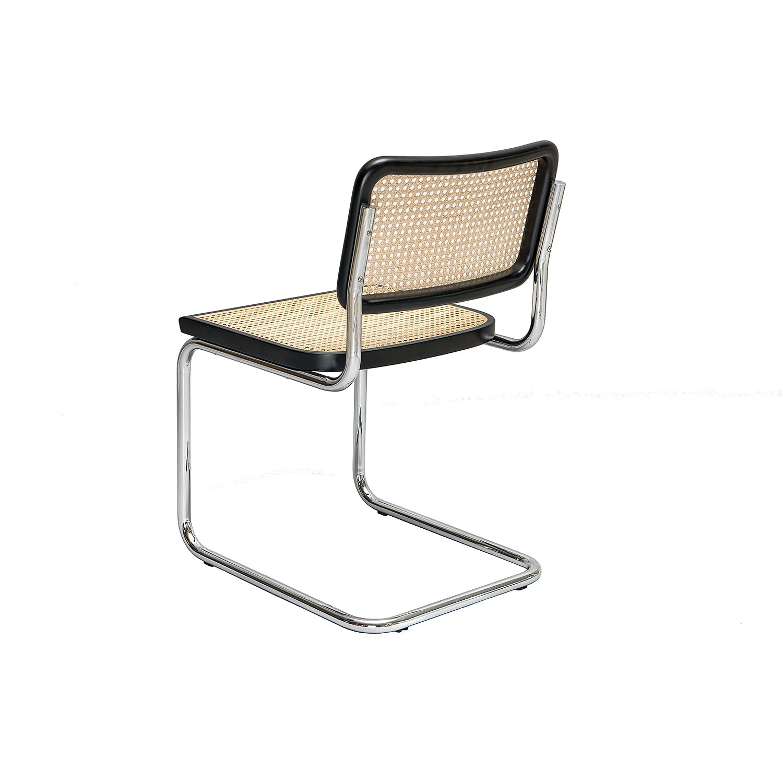 cesca chair b 32 designed by marcel breuer steelform design classics. Black Bedroom Furniture Sets. Home Design Ideas