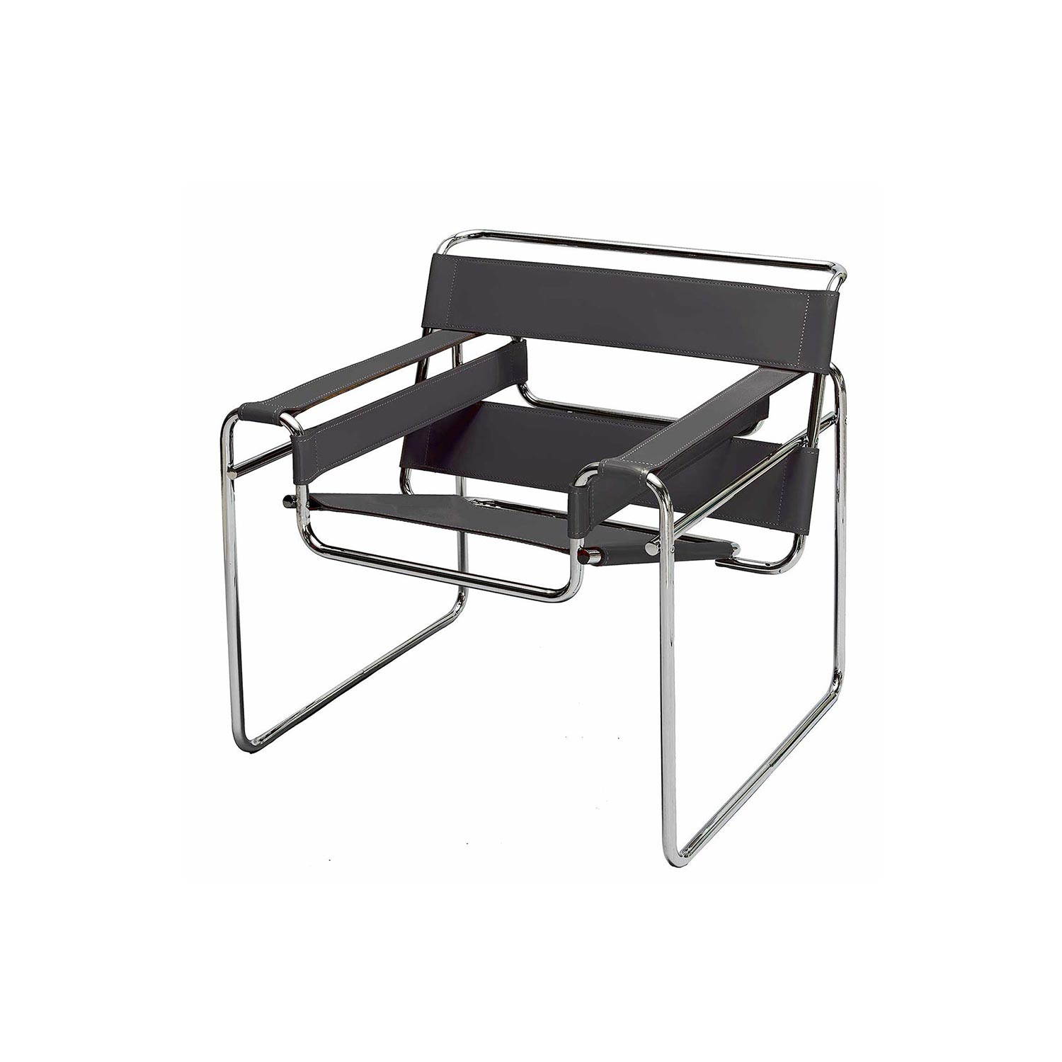 wassily chair designed by marcel breuer steelform design classics. Black Bedroom Furniture Sets. Home Design Ideas