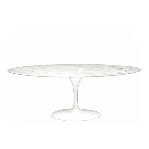 Eero Saarinen Oval Tulip Dining Table
