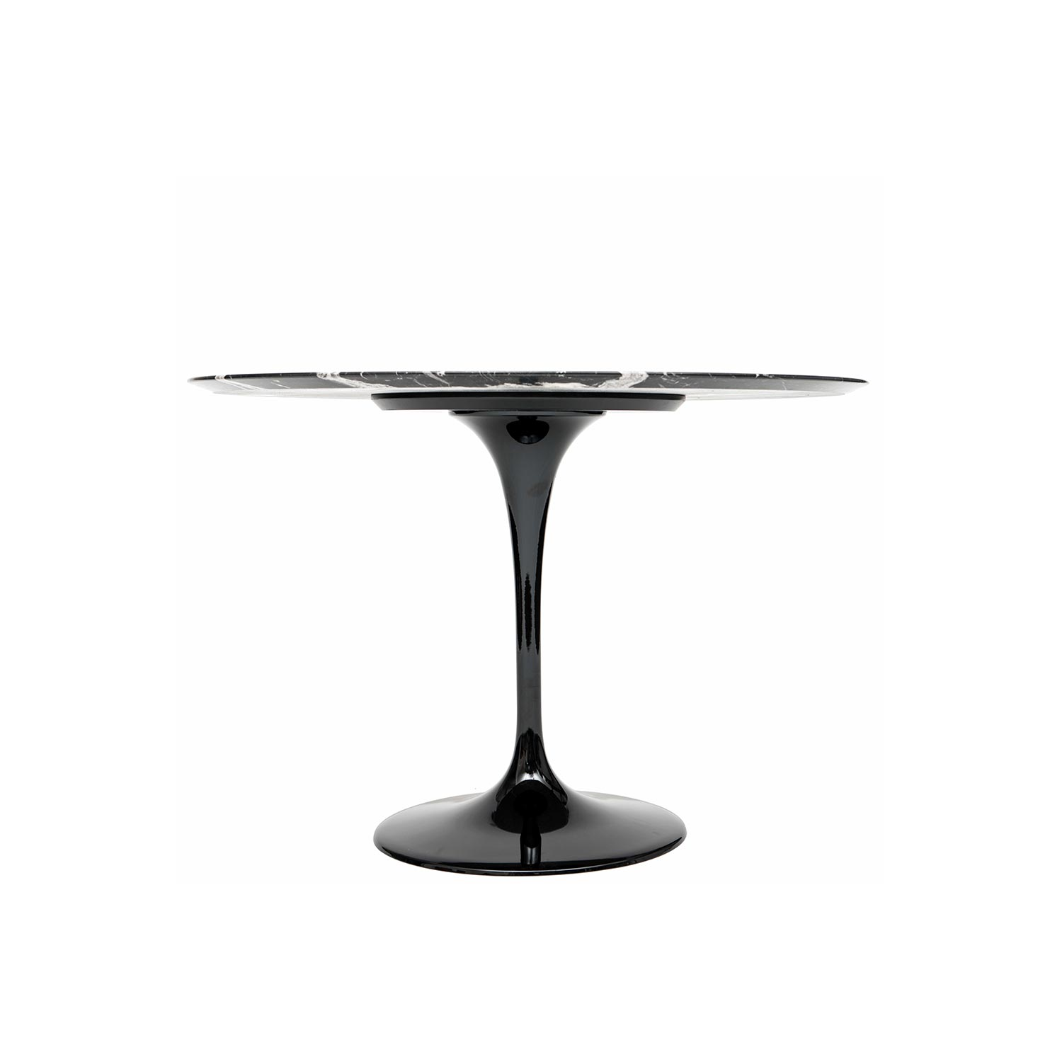 tulip dining table by eero saarinen a steelform design classic. Black Bedroom Furniture Sets. Home Design Ideas