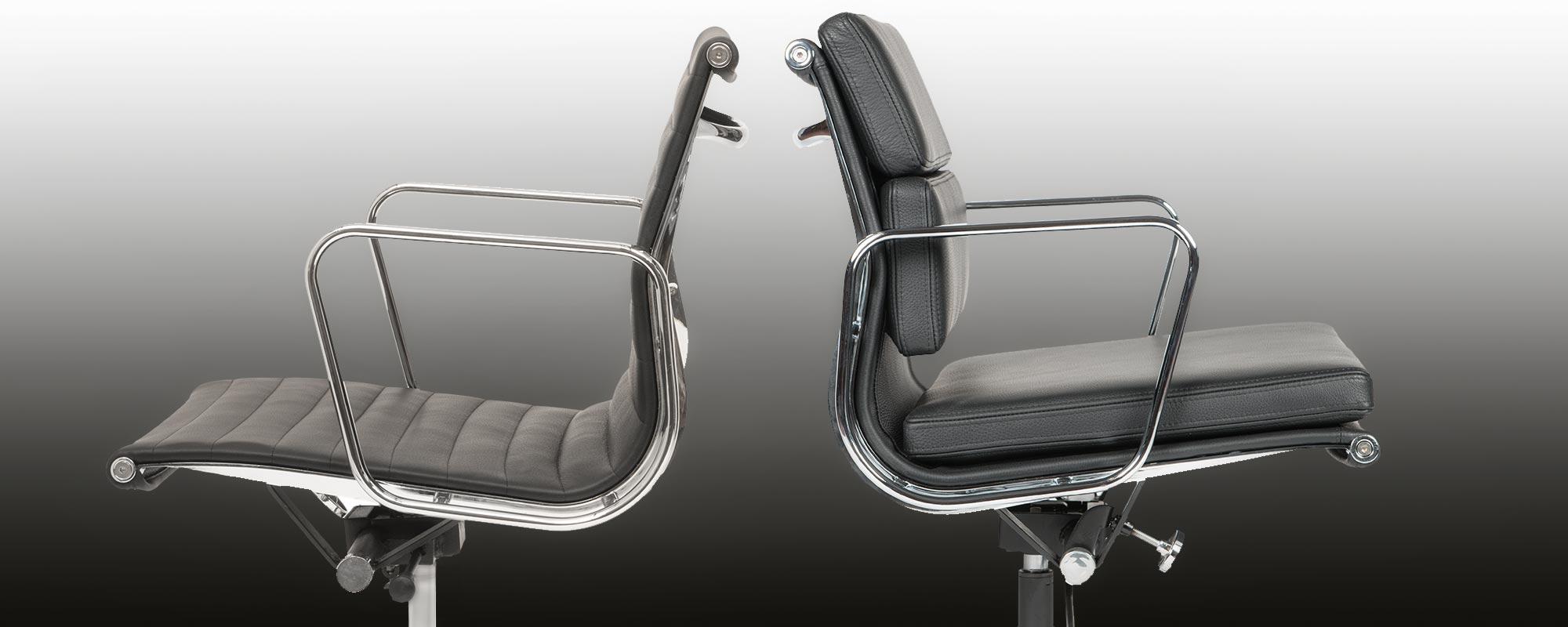 Eames Designed Soft Pad Chair Ea 217 A Steelform Design